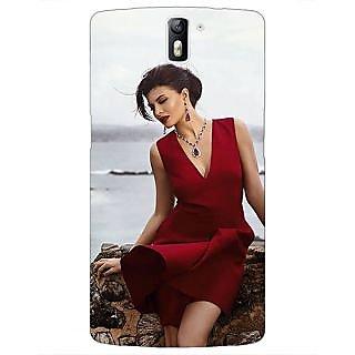 1 Crazy Designer Bollywood Superstar Jacqueline Fernandez Back Cover Case For OnePlus One C411050
