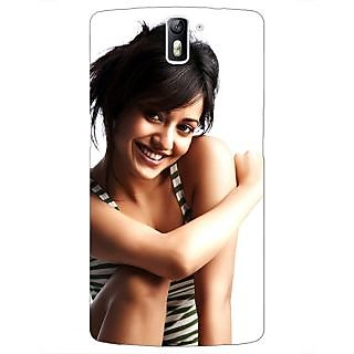 1 Crazy Designer Bollywood Superstar Neha Sharma Back Cover Case For OnePlus One C411058