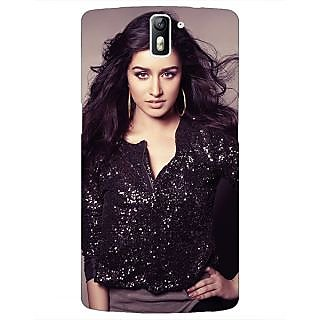 1 Crazy Designer Bollywood Superstar Shraddha Kapoor Back Cover Case For OnePlus One C411064
