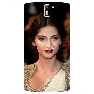 1 Crazy Designer Bollywood Superstar Sonam Kapoor Back Cover Case For OnePlus One C411069