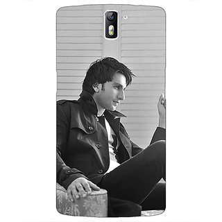 1 Crazy Designer Bollywood Superstar Ranveer Singh Back Cover Case For OnePlus One C410945