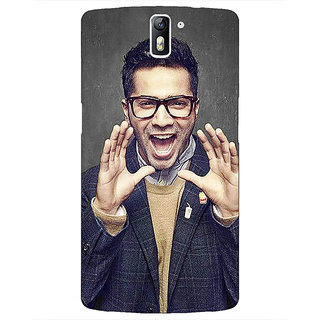 1 Crazy Designer Bollywood Superstar Varun Dhawan Back Cover Case For OnePlus One C410946