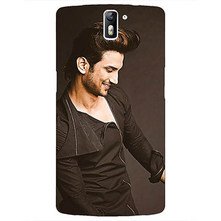 1 Crazy Designer Bollywood Superstar Sushant Singh Rajput Back Cover Case For OnePlus One C410949