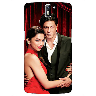 1 Crazy Designer Bollywood Superstar Deepika Padukone Shahrukh Khan Back Cover Case For OnePlus One C411024