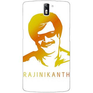 1 Crazy Designer Rajni Rajanikant Back Cover Case For OnePlus One C411490