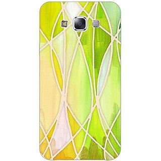 1 Crazy Designer Designer Geometry Pattern Back Cover Case For Samsung Galaxy E7 C420236