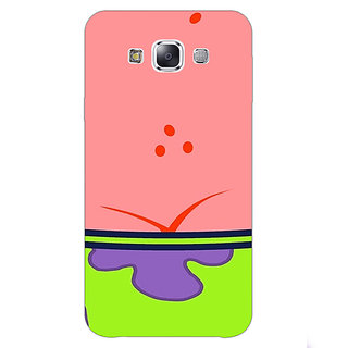 1 Crazy Designer Spongebob Patrick Back Cover Case For Samsung Galaxy E7 C420468