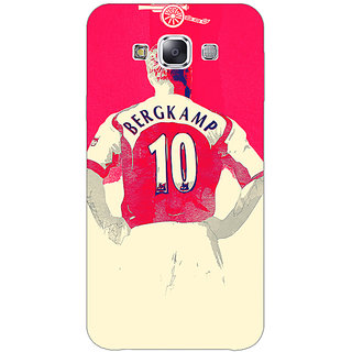 1 Crazy Designer Arsenal Dennis Bergkamp Back Cover Case For Samsung Galaxy E7 C420513