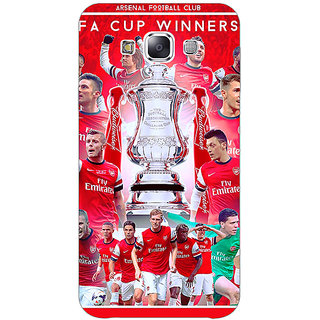 1 Crazy Designer Arsenal Back Cover Case For Samsung Galaxy E7 C420516