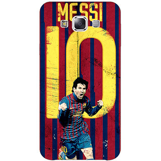 1 Crazy Designer Barcelona Messi Back Cover Case For Samsung Galaxy E7 C420528