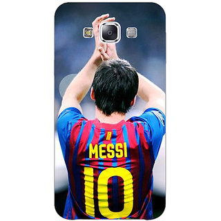 1 Crazy Designer Barcelona Messi Back Cover Case For Samsung Galaxy E7 C420529