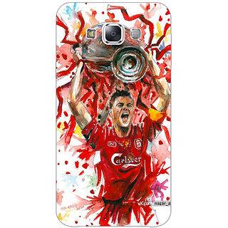 1 Crazy Designer Liverpool Gerrard Back Cover Case For Samsung Galaxy E7 C420550
