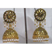 Antic sun jhumaka earring