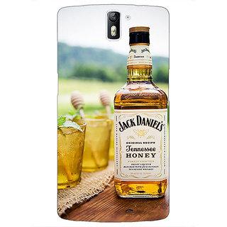 1 Crazy Designer Jack Daniels JD Whisky Back Cover Case For OnePlus One C411211