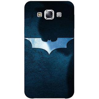 1 Crazy Designer Superheroes Batman Dark knight Back Cover Case For Samsung Galaxy E7 C420003