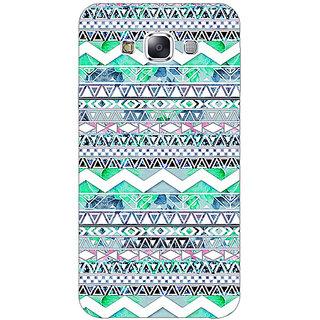 1 Crazy Designer Aztec Girly Tribal Back Cover Case For Samsung Galaxy E7 C420100