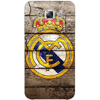 1 Crazy Designer Real Madrid Back Cover Case For Samsung Galaxy E7 C420596