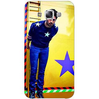 1 Crazy Designer Bollywood Superstar Siddharth Malhotra Back Cover Case For Samsung Galaxy E7 C420944