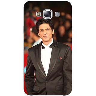 1 Crazy Designer Bollywood Superstar Shahrukh Khan Back Cover Case For Samsung Galaxy E7 C420960