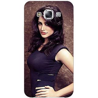 1 Crazy Designer Bollywood Superstar Nargis Fakhri Back Cover Case For Samsung Galaxy E7 C421022