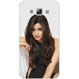 1 Crazy Designer Bollywood Superstar Alia Bhatt Back Cover Case For Samsung Galaxy E7 C421027