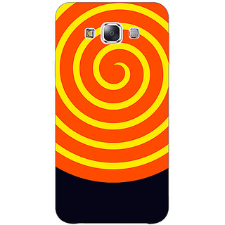 1 Crazy Designer Hippie Psychedelic Back Cover Case For Samsung Galaxy E7 C421272