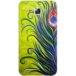 1 Crazy Designer Paisley Beautiful Peacock Back Cover Case For Samsung Galaxy E7 C421590