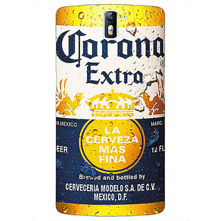1 Crazy Designer Corona Beer Back Cover Case For OnePlus One C411238