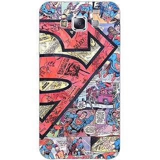 1 Crazy Designer Superheroes Superman Back Cover Case For Samsung Galaxy A7 C430044