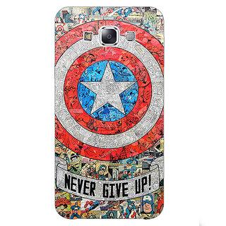 1 Crazy Designer Superheroes Captain America Back Cover Case For Samsung Galaxy A7 C430334