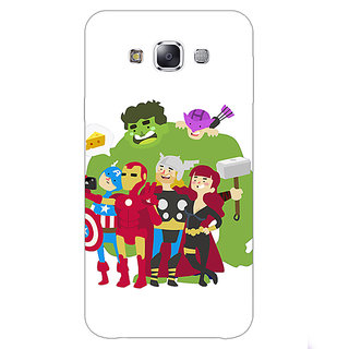 1 Crazy Designer Superheroes Baby Avengers Back Cover Case For Samsung Galaxy A7 C430337