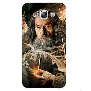 1 Crazy Designer LOTR Hobbit Gandalf Back Cover Case For Samsung Galaxy A7 C430358