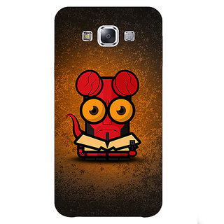 1 Crazy Designer Big Eyed Superheroes Hell Boy Back Cover Case For Samsung Galaxy E7 C420400