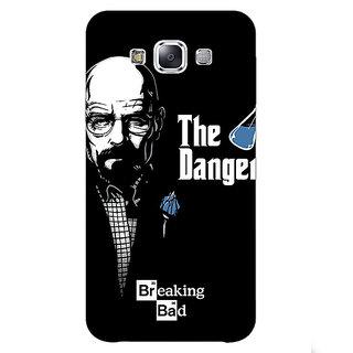 1 Crazy Designer Breaking Bad Heisenberg Back Cover Case For Samsung Galaxy E7 C420406