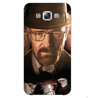 1 Crazy Designer Breaking Bad Heisenberg Back Cover Case For Samsung Galaxy E7 C420408