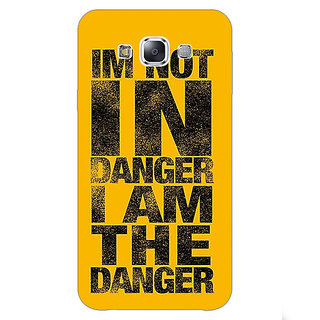 1 Crazy Designer Breaking Bad Heisenberg Back Cover Case For Samsung Galaxy E7 C420409