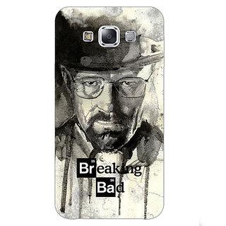 1 Crazy Designer Breaking Bad Heisenberg Back Cover Case For Samsung Galaxy E7 C420419