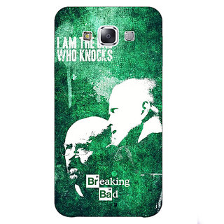 1 Crazy Designer Breaking Bad Heisenberg Back Cover Case For Samsung Galaxy E7 C420423