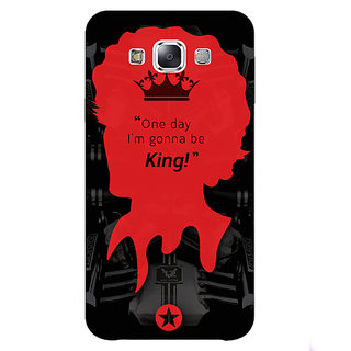 1 Crazy Designer Entourage Vince Back Cover Case For Samsung Galaxy E7 C420435