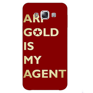 1 Crazy Designer Entourage Ari Gold Back Cover Case For Samsung Galaxy E7 C420436