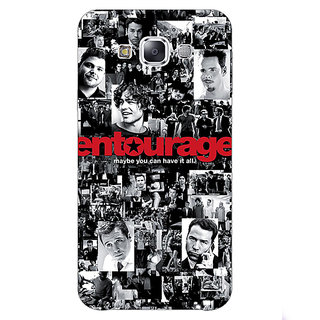 1 Crazy Designer Entourage Back Cover Case For Samsung Galaxy E7 C420438