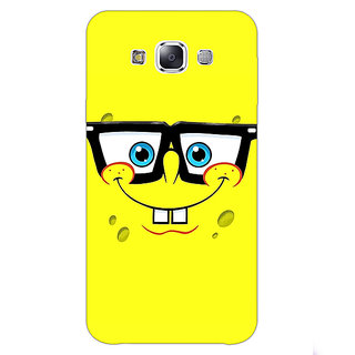 1 Crazy Designer Spongebob Back Cover Case For Samsung Galaxy E7 C420459