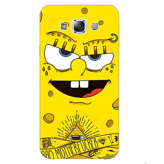 1 Crazy Designer Spongebob Back Cover Case For Samsung Galaxy E7 C420466