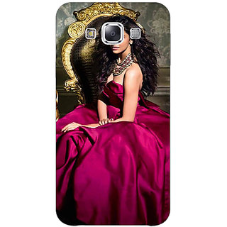 1 Crazy Designer Bollywood Superstar Deepika Padukone Back Cover Case For Samsung Galaxy E7 C421040