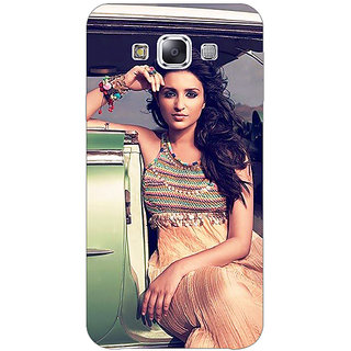 1 Crazy Designer Bollywood Superstar Parineeti Chopra Back Cover Case For Samsung Galaxy E7 C421062