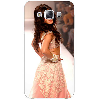 1 Crazy Designer Bollywood Superstar Shruti Hassan Back Cover Case For Samsung Galaxy E7 C421072