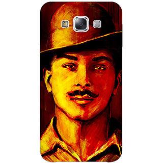 1 Crazy Designer Bollywood Superstar Bhagat Singh Back Cover Case For Samsung Galaxy E7 C421094