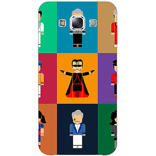 1 Crazy Designer Bollywood Superstar Villain Back Cover Case For Samsung Galaxy E7 C421118