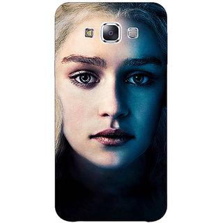 1 Crazy Designer Game Of Thrones GOT Khaleesi Daenerys Targaryen Back Cover Case For Samsung Galaxy E7 C421551