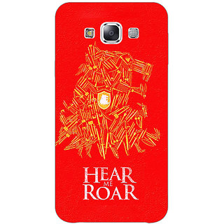 1 Crazy Designer Game Of Thrones GOT House Lannister Tyrion Back Cover Case For Samsung Galaxy E7 C421558